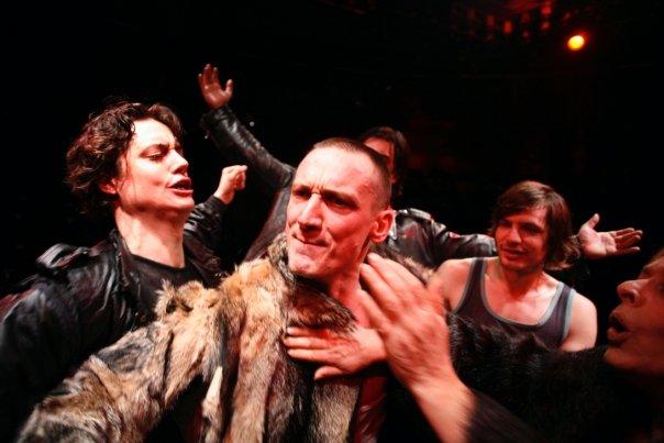 "Domen Valič, Marko Mandić, Stipe Kostanić, Jurij Drevenšek, Milena Zupančič in ""Macbeth After Shakespeare"" | Photo by Miha Frass and SONDA"