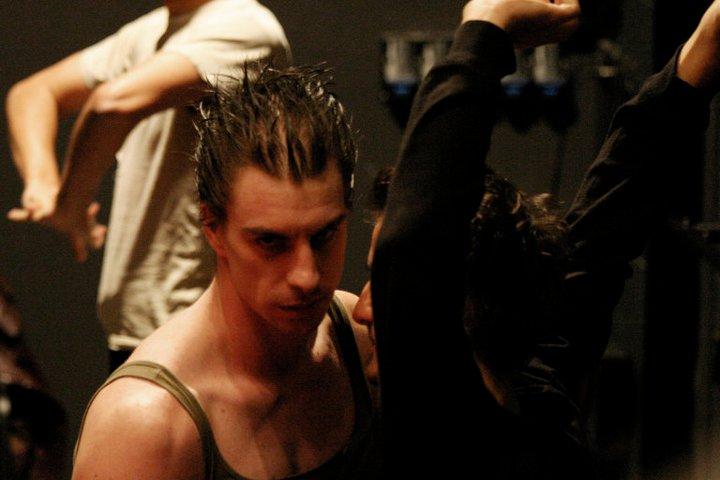 "Jure Henigman in Heiner Muller's ""Macbeth After Shakespeare"" | Photo by Miha Frass and SONDA"