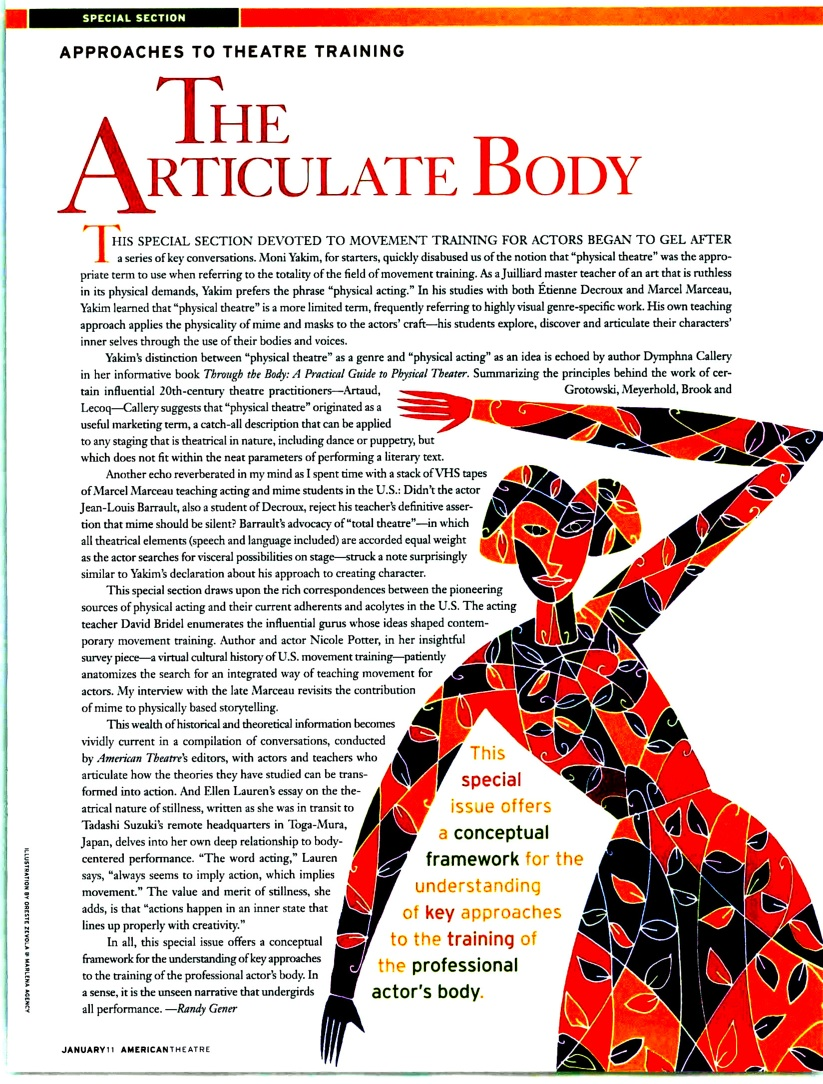 """""""Approaches to Training: The Articulate Body"""" by Randy Gener"""