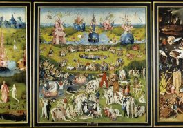 "Hieronymus Bosch's painting ""The Garden of Earthly Delights"""