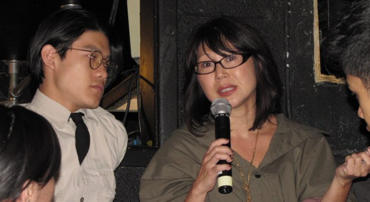 "Nancy Kim Parsons, New York actor, at ""RepresentAsian"" 