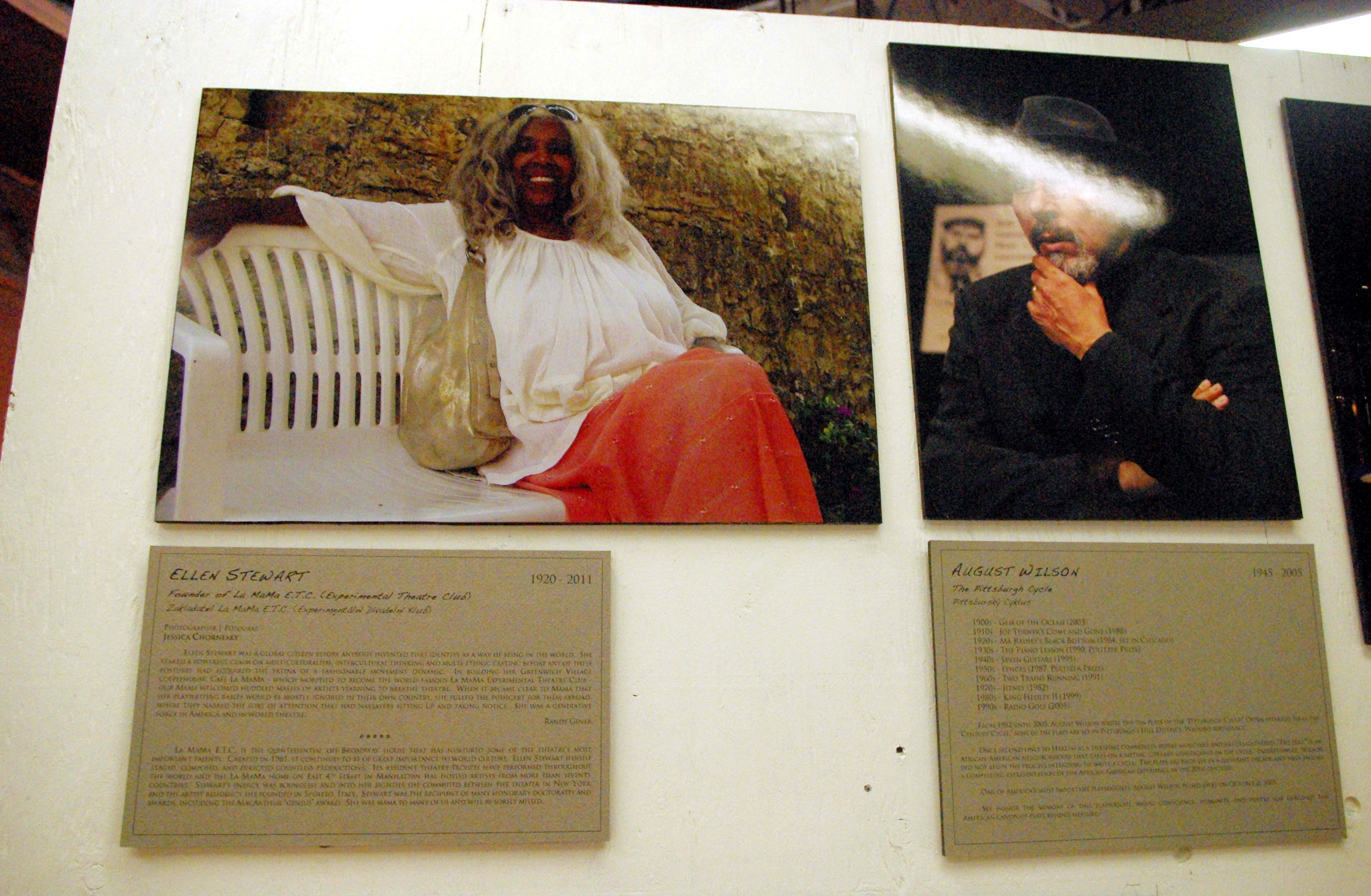 """Tributes to Ellen Stewart and August Wilson in """"From the Edge"""" 