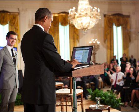Barack Obama is the most followed world leader with 17,115,077 followers | Courtesy Burson-Marsteller