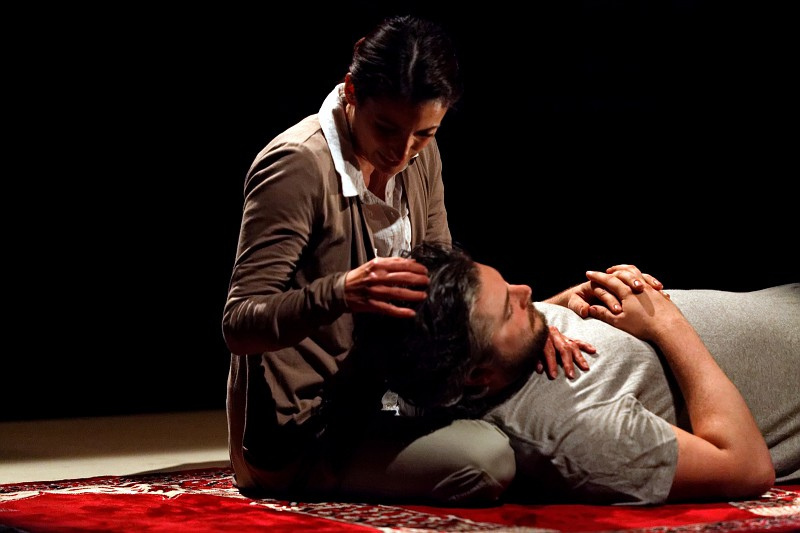 Diverse City Theater Company's production of TWO ROOMS by Lee Blessing | Photos by Carlo Damocles