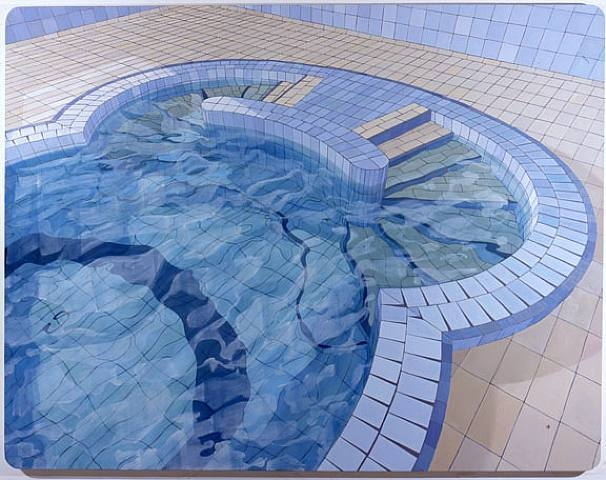 """""""O Húngaro (The Hungarian)"""", oil of canvas (2006) by Adriana Varejao 