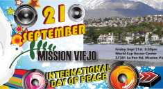 U.N. International Day of Peace rock concert at Mission Viejo World Cup Soccer Fields