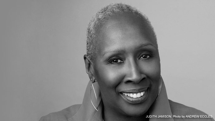 Judith Jamison, Dancer, Choreographer and  Director Emerita of the Alvin Ailey American  Dance Theater | Photo by Andrew Eccles