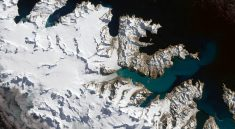 NASA IMAGE OF THE DAY   Glaciers Ebb on South Georgia Island
